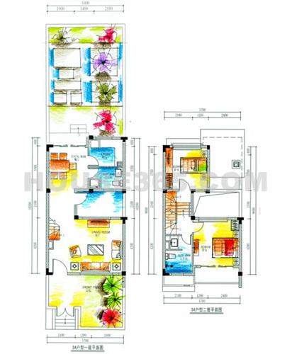 梦想房子手绘图