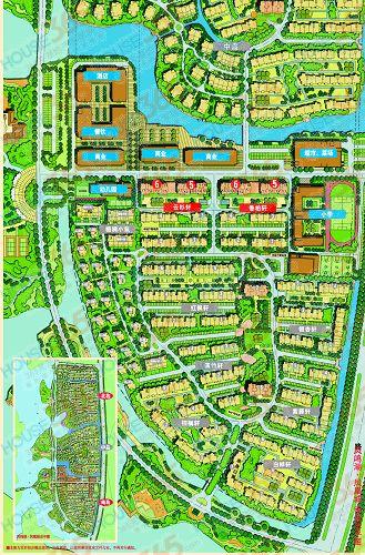 凤凰城;南岛鸟瞰图;house365 资料图片