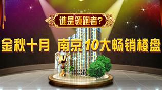 10月南京10大畅销楼盘