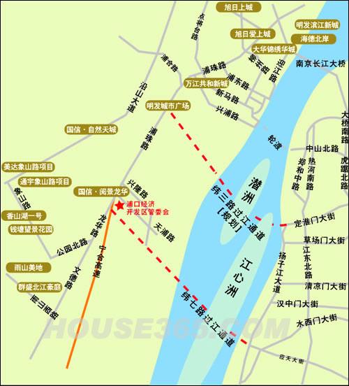 南京过江通道规划图