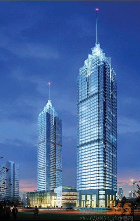 """比高""""迪拜塔"""" 苏州市区高层建筑盘点"""