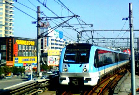 南京地铁8号线麒麟镇站