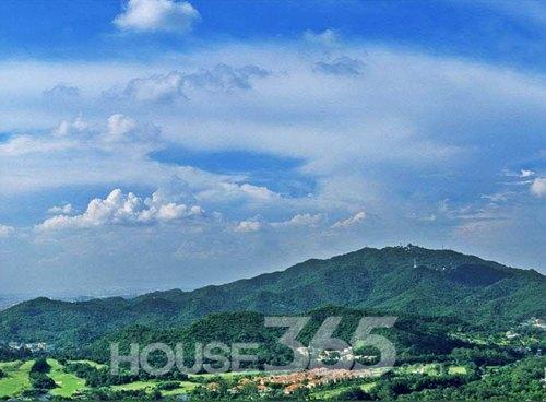 广州白云山景区远景