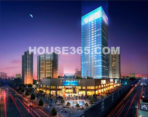 也是苏州第一个采用退台式屋顶绿化的商业建筑设计,独特商业建筑设计图片
