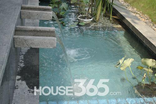 (德信上湖名院水景小品 house365 新闻中心)图片