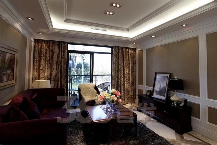 简约欧式风格的三房两厅两卫样板房