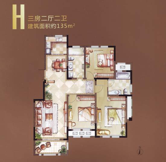 设计图分享 2房一厅一卫设计图纸  五室一厅房屋设计图纸_五室一厅