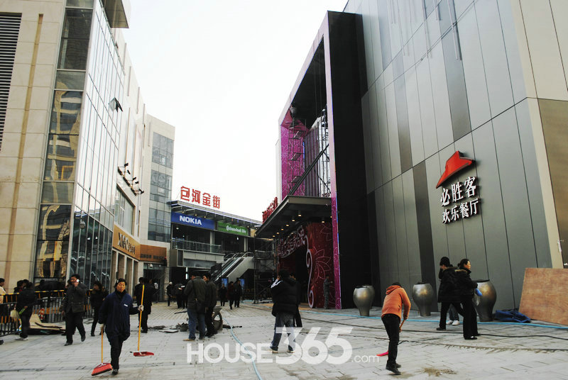 合肥万达广场 室外步行街