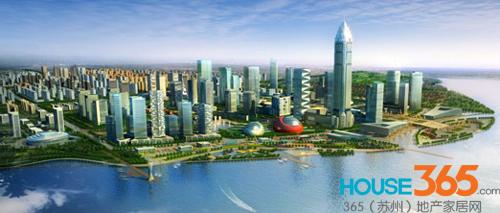 吴江城区空间结构
