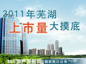 2011芜湖上市量