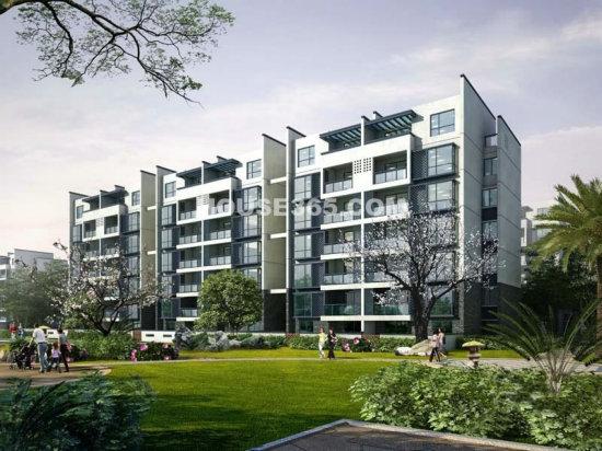 多层新中式单体建筑