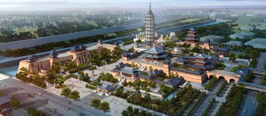 备受关注的金陵大报恩寺琉璃塔暨遗址文化园区