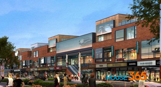 项目三期商业街外立面采用图片