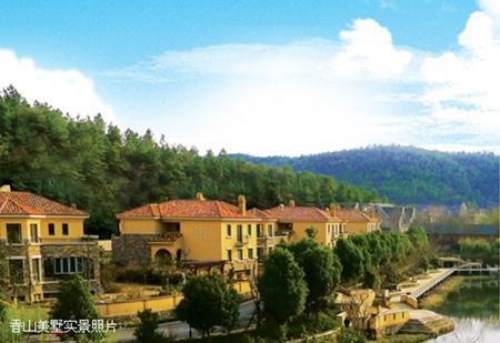 位于南京最具价值别墅区——将军山风景区北侧
