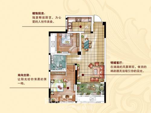 [香堤半岛]墅区高层70-120平米 总价38万起