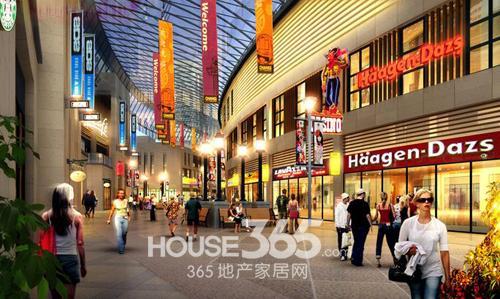 五丰广场:60万方商业综合体 服务城北居民-房产