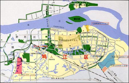 无为市地图