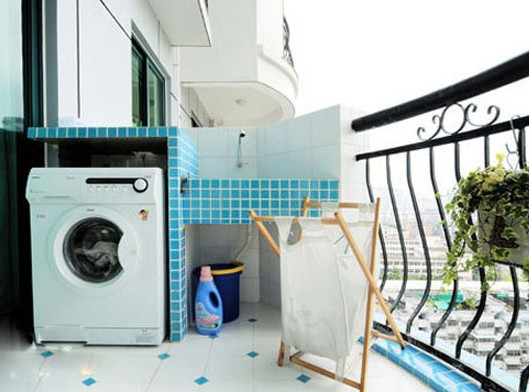 生活阳台装修效果图 小户型设计的8个攻略