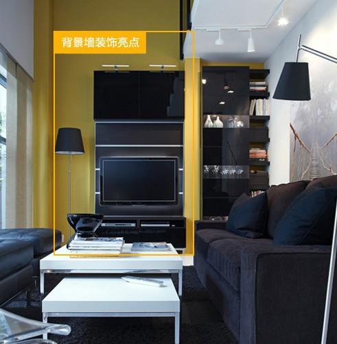 影视墙装修效果图大全一,直线型电视背景墙
