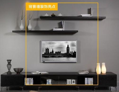 電視背景墻的裝飾,各種擱板,柜; 影視墻裝修效果圖大全 實用搭配省