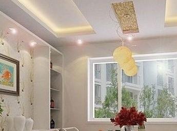 简欧式客厅吊顶 给家增添色彩