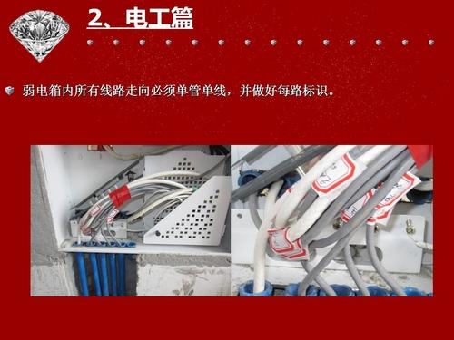 电工篇:弱电箱内所有线路做好标识