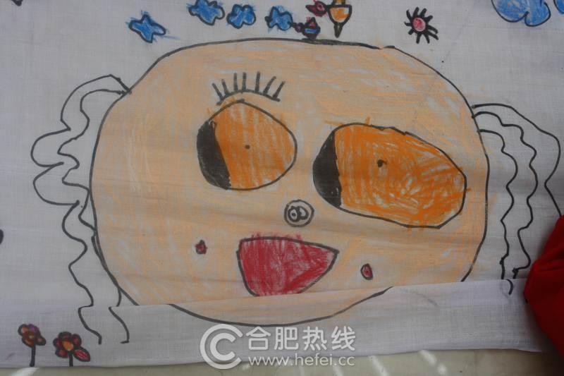 包河万达广场 母亲节 绘画活动落幕 看小朋友心中的漂亮妈妈