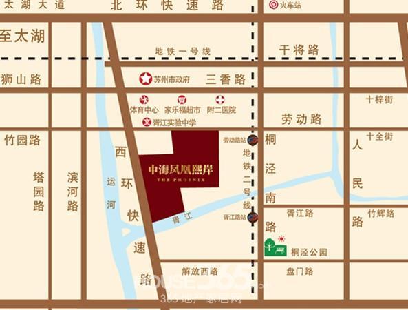 苏州劳动路地图