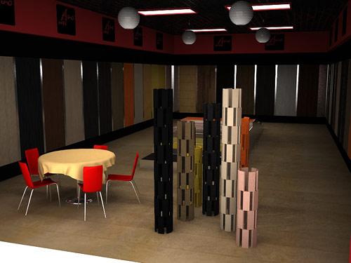 木地板店面装修效果图