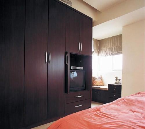 时尚mm玩转空间 卧室衣柜装修效果图