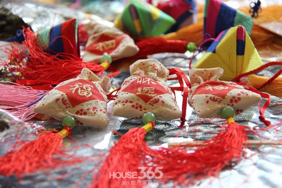 绿地镜湖世纪城|艾草香囊香包|端午节