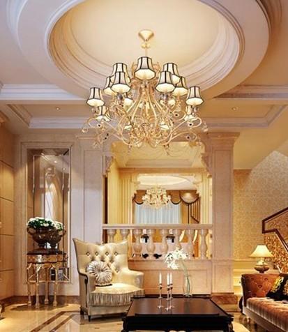 欧式烛台吊灯介绍 灯饰让家居的魅力值飙升