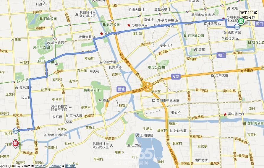 楼体地图标示