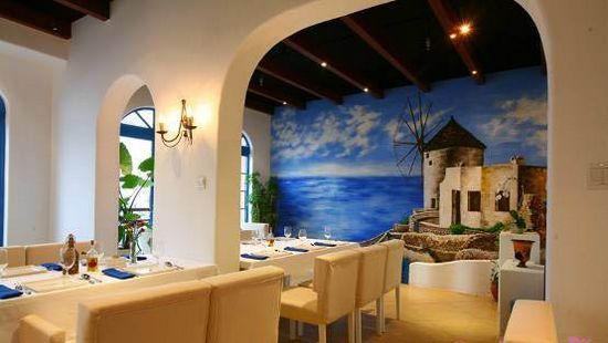 小餐厅装修效果图 纯美至极地中海风格