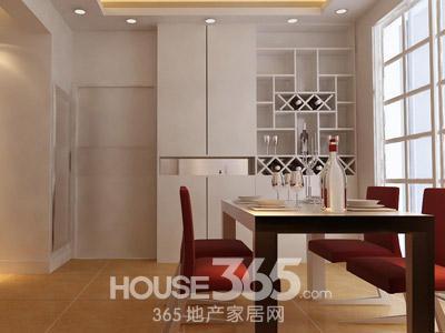 鞋柜酒柜效果图 舒适空间家装案例高清图片