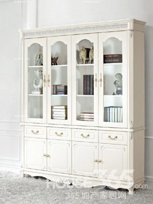 欧式书柜图片 纯欧式时尚空间案例
