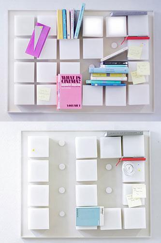 设计感十足的创意书架 为家居生活加一点料