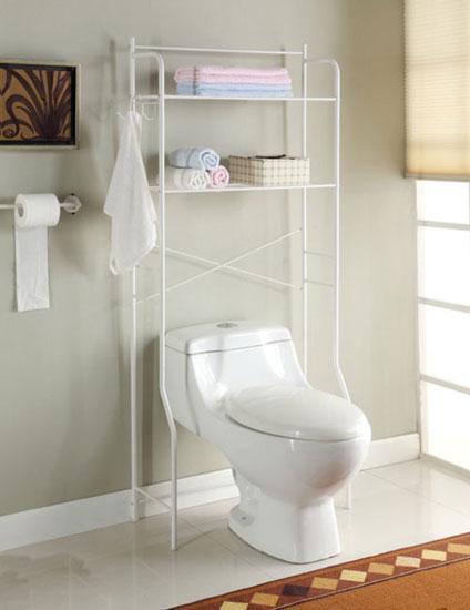浴室柜装修效果图:马桶的上面能用来干什么?