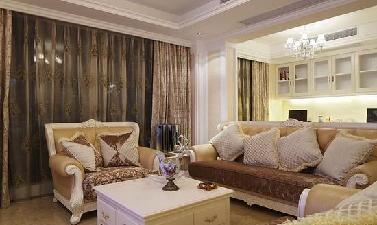 小户型房屋装修效果图 2013精致小客厅