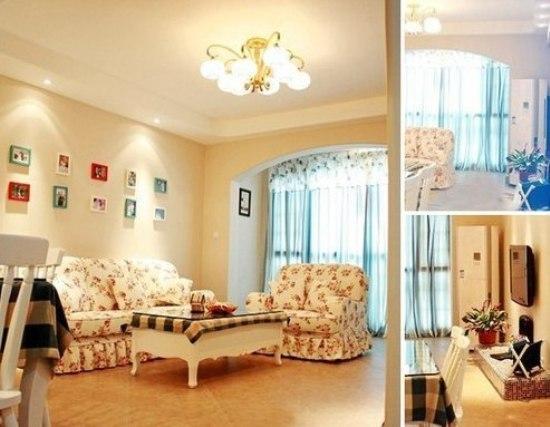 现代装修样板房 小夫妻晒80平米混搭风格美家