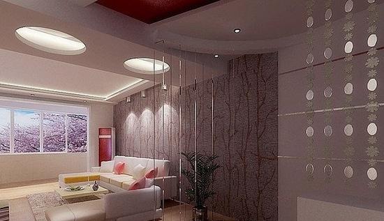 客厅屏风隔断效果图 绝美的客厅装修案例