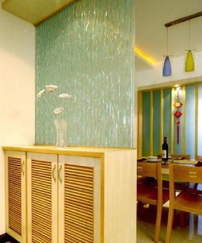 客厅屏风隔断效果图 绝美的客厅装修案例高清图片