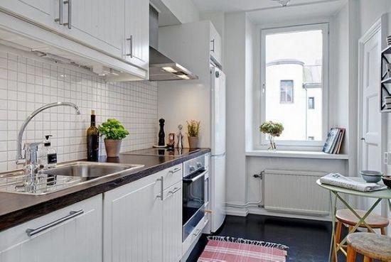 厨房装修效果图大全2013