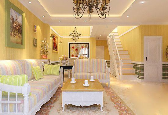 清新田园风格客厅 享受安静闲适生活
