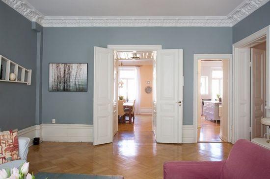 混搭风格装修效果图 大户型公寓迷恋小清新范儿
