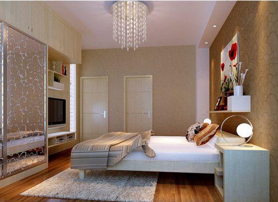 卧室装修效果图2013 简约风设计让你享受中国梦