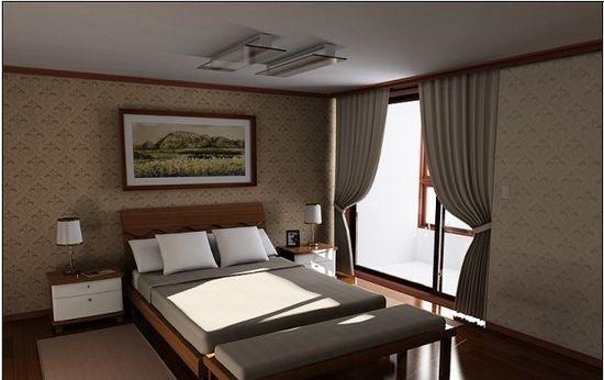 臥室裝修效果圖2013 簡約風設計讓你享受中國夢