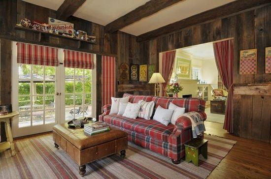 别墅装修效果图 美式乡村自然风格