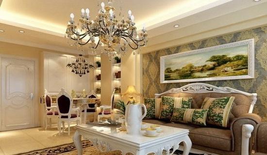 简约客厅装修效果图 别样小户型家装设计