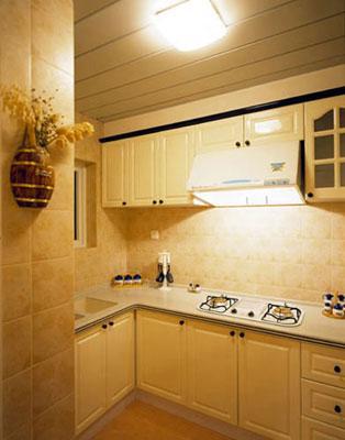 欧式风格厨房装修效果图 格调气息溢满家居